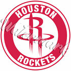 Houston Rockets Circle Logo Vinyl Decal / Sticker 10 Sizes!! With TRACKING!! on eBay