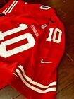 30% off Jimmy Garoppolo San Francisco 49ers #10 Adult Men M L XL 2XL Red Jersey $64.95 USD on eBay