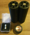 2x 18650 Li-Ion to 4D-Cell Maglite Adapter - Flashlight conversion w/ LED option