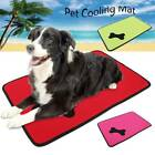 Dog Heat Relief Cooling Bed Pet Kennel Cushion Mat Cage Pad Waterproof Outdoor