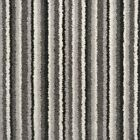 Grey Stripe Carpet Silky Soft Thick Pile Felt Back £10.99 sqm 4m x Any Length