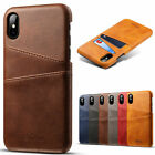 Leather Wallet Card Slot Holder Back Cover Case For Iphone 7 8 Plus Xs Max Xr