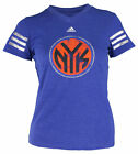 Adidas NBA Youth Girls New York Knicks Team Jersey Tee Shirt, Blue on eBay
