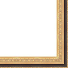 Picture Frame Moulding (wood) - Traditional Gold Finish - 2