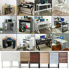 Foldable Computer Desk Folding PC Table Study Laptop Collapsible Office Home