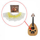 Ude Strings Set Oud Lute Strings Silver Plated Copper Alloy Wrapped Nylon Str WF