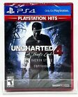 Uncharted 4: A Thief's End - PS4 - PlayStation Hits Brand New | Factory Sealed