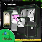 VIVOSUN Indoor Grow Tent Hydroponic 100% Reflective Mylar Non Toxic Room Box
