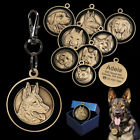Personalized Dog Tags 3D 8Breeds Patterns Pet Cat Puppy Name ID Collar Engraved