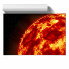 Sun in Space (2) Poster Print Wall Art Unframed Picture Home Décor