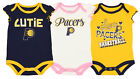 Outerstuff NBA Infant Girls Indiana Pacers Dribble Time 3 Pack Creeper Set on eBay