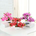 Decoration Artificial Bonsai Tree Potted Ornament Plastic+Resin Gift Room