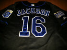 Kansas City Royals #16 Bo Jackson Throwback Jersey black New Tag WS patch sewn on Ebay