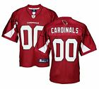 "Reebok NFL Men's Arizona Cardinals Team ""00"" Jersey, Red $19.99 USD on eBay"