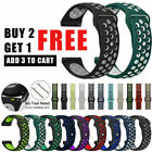 Silicone Sport Strap for Samsung Galaxy Watch Active 2 40mm 44mm 42mm Watch Band
