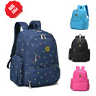 Large Maternity Spot Nappy Diaper bag Mummy Backpack  Changing Pad