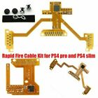 V4 & V5 Rapid Fire Cable Kit for PS4 Pro & Slim PlayStation Controller Mod Plus