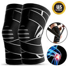 Sport Adjustable Knee Brace Support Compression Sleeves Wrap for Arthritis Pain $8.92 USD on eBay