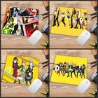 Gaming Mouse Pad Computer Durable Rubber Anime Best Precision Weaving Cloth Mats
