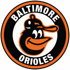Baltimore Orioles Circle Sticker  |  Vinyl Decal  | 10 Sizes!!! with Tracking!! on Ebay