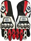 NEW MOTORBIKE BMW MOTOTRRAD S1000RR MOTOGP LEATHER GLOVES