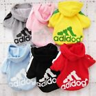 Kyпить Adidog Small Dogs Puppy Apparel Hoodie Sweater T Shirt Jumpsuit Pet Hoodies на еВаy.соm