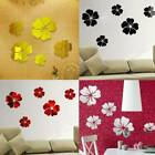 3 Colors 3d Acrylic Living Room Flower Pattern Wall Sticker Home Decoration Ja