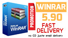 WinRar 5.90 Final 2020 UNLIMITED PC  Fast Delivery