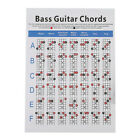 Bass Guitar  Practice Chart Fingering Practice Learn Teach Play Guitar for sale