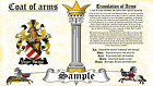 Stockar-Stuckerds COAT OF ARMS HERALDRY BLAZONRY PRINT