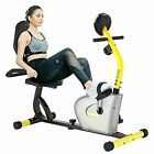 pooboo Recumbent Stationary Exercise Bike with Adjustable Magnetic Resistance