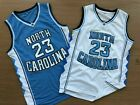 MICHAEL JORDAN #23 North Carolina Mens Basketball Jordan Retro Jersey All Sewn
