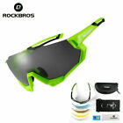 New RockBros Polarized Cycling Glasses Half Frame Sports Sunglasses 4 colors