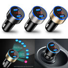 3.1A Dual USB Port Car Charger Adapter Charger LCD Display Cigarette Socket UK