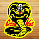 Funny Cobra Kai Strike No Mercy Karate Kid Car Window Wall Die Cut Decal Sticker