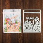 Christmas Dies Winter Frame Dies Building Metal Cutting Dies Scrapbooking Albums