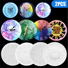 Epoxy Casting Mold Silicone Molds Crystal Glue Clock Resin Mould Handmade Craft
