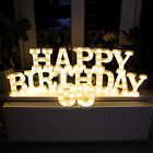 22cm LED Light Up Alphabet Letters A-Z Birthday Party Celebration Standing Hang