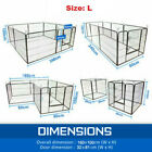 2020 NEW 8 Panel Pet Dog Playpen Puppy Exercise Cage Enclosure Fence Play