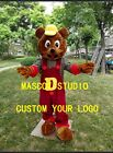New Bear Mascot Costume Cosplay Party Game Dress Outfit Advertising Halloween