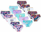 Girls 5 Pairs Briefs Pants Cotton Knickers Underwear Kids New Ages 2 - 13 Years