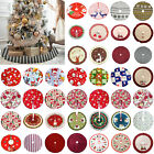 Christmas Tree Skirt Mat Party Snow Mat Cover Home Party Xmas New Year Decor Us