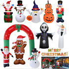 Inflatable Christmas Decorations Santa ClausSnowman Halloween Party Outdoor