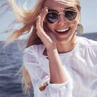 Classic Small Frame Round Sunglasses For Women