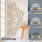 Mandala In Half Wall-sticker Wall Decal Decor Art Removable Room Home Mural X 1