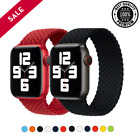 apple watch 6 braided solo loop strap band 44mm 40mm iwatch bands series 6 se 5