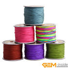 0.8mm Chinese Knot Nylon Cord Shamballa Macrame Beading String Sewing 120 Meters