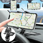 Car Rearview Mirror Mount Stand Holder Cradle 360° Universal for Cell Phone GPS