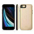Smart Power Bank Back Pack Battery Case Charging Case Cover For iPhone 7 8P SE2