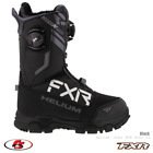 New 2021 FXR Helium Dual BOA Snowmobile Boot Black Size 11 12 13 Snocross